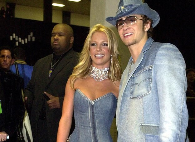 Britney Spears i Justin Timberlake /AFP
