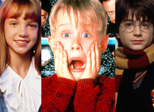 Britney Spears, Macaulay Culkin i Daniel Radcliffe /East News