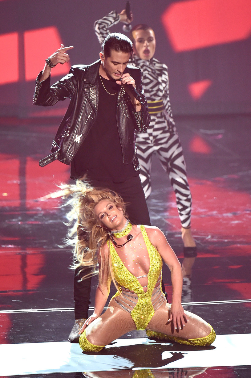 Britney Spears na scenie /Michael Loccisano /Getty Images