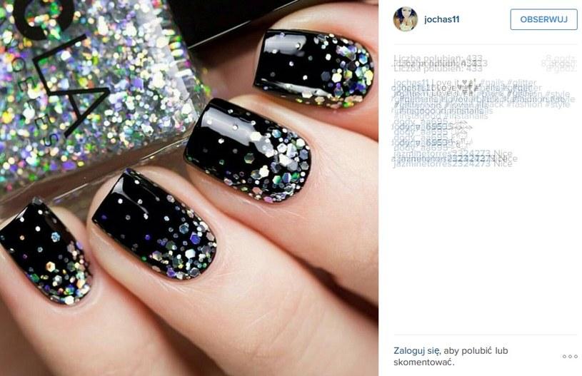 Brokatowe paznokcie - w tym sezonie można nosić je nawet na codzień /jochas11/Printscreen