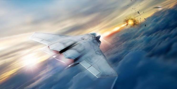 Broń laserowa stanie się ważnym elementem uzbrojenia nie tylko amerykańskiego lotnictwa Fot. Air Force Research Laboratory /materiał zewnętrzny