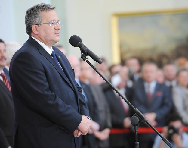 Bronisław Komorowski, fot. Jacek Turczyk /PAP