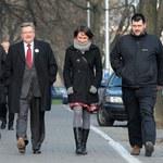 Bronisław Komorowski i jego liczna rodzina