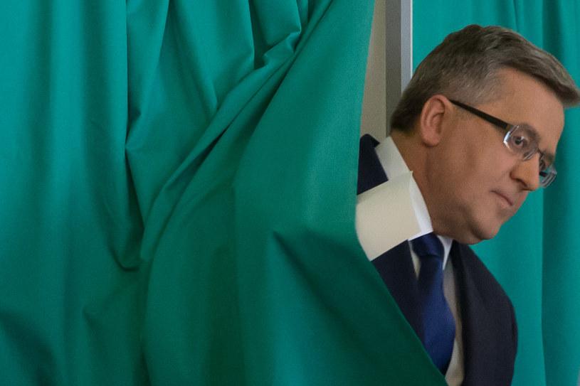 Bronisław Komorowski miał bardzo słabą kampanię wyborczą /Krystian Maj /Agencja FORUM