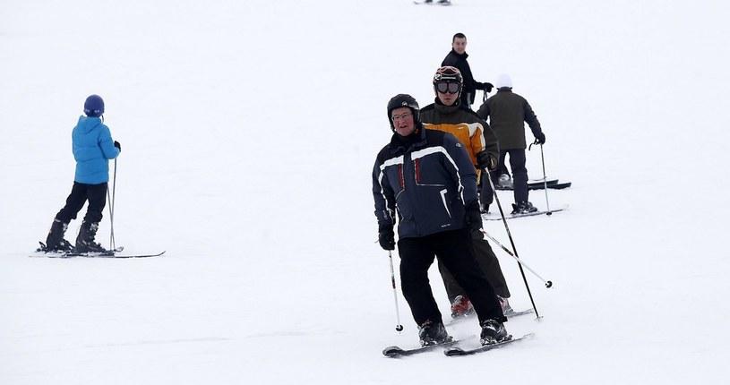 Bronisław Komorowski na nartach (zdjęcie ilustracyjne) /Katarzyna Zaremba /Agencja SE/East News