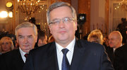 Bronisław Komorowski odpoczywa pod żaglami
