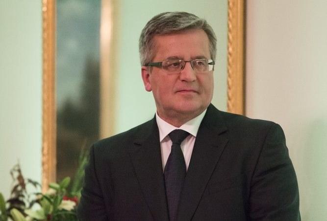 Bronisław Komorowski /Andrzej Hulimka  /Reporter