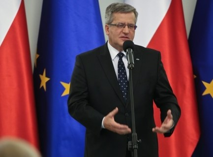 Bronisław Komorowski /PAP/Rafał Guz /PAP