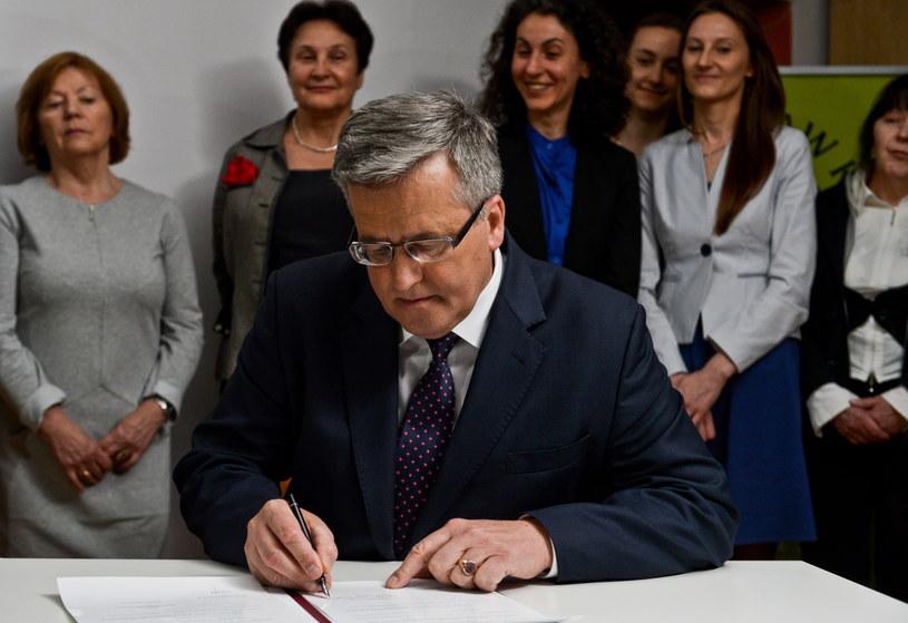 Bronisław Komorowski /Marcin Obara /PAP