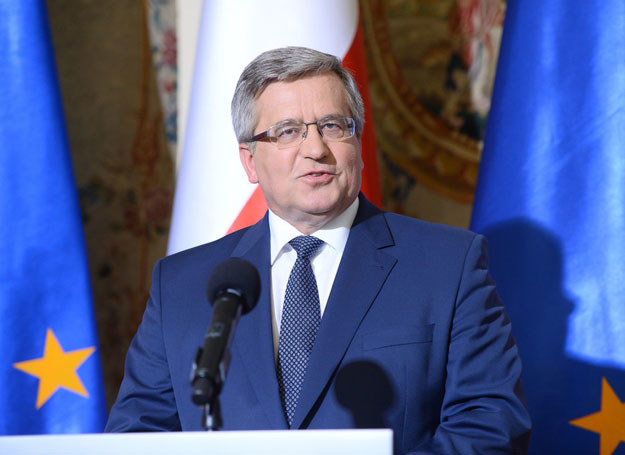 Bronisław Komorowski /VIPHOTO /East News