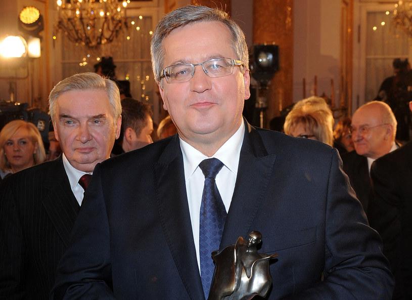 Bronisław Komorowski /MWMedia