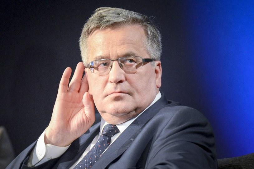 Bronisław Komorowski /Piotr Kamionka /Reporter