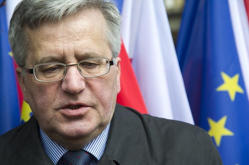 Bronisław Komorowski /Wojciech Stróżyk /East News