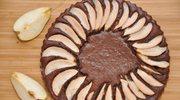 Brownie z gruszkami