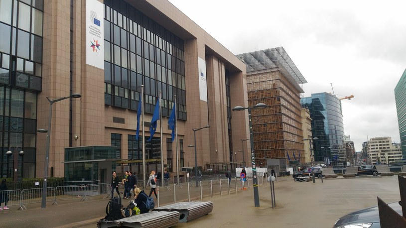 Bruksela, budynek RE /Agnieszka Waś-Turecka /INTERIA.PL