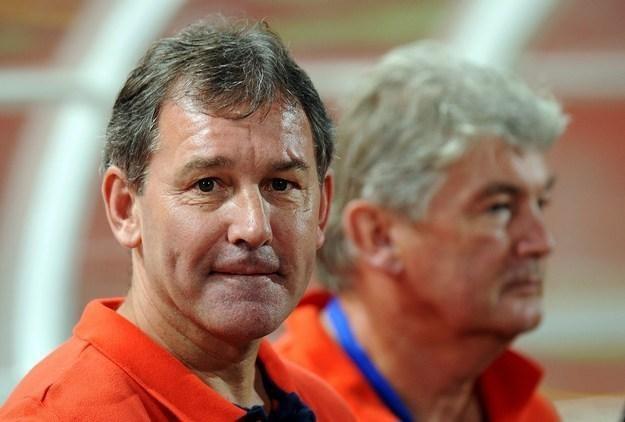 Bryan Robson (na pierwszym planie) /AFP