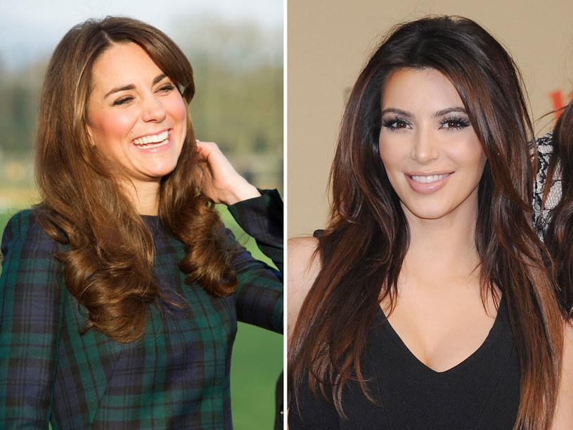 Brytyjczycy cenią te uśmiechy za szczerość i naturalność. Na zdj. księżna Catherine i Kim Kardashian /Getty Images