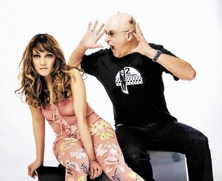 Brytyjczyk Shaun Baker z niemiecką wokalistką Marią Lucią Moreno Lozanes, znaną jako MaLoY /materiały prasowe