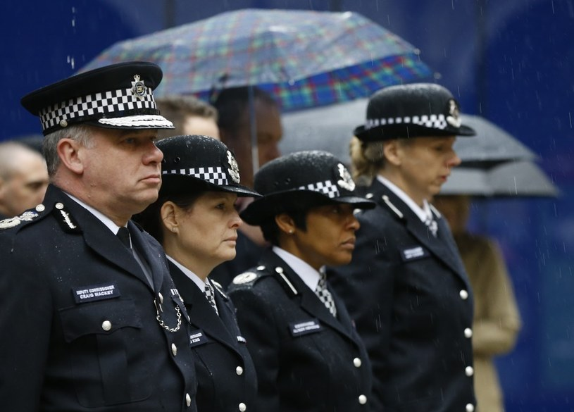 Brytyjscy policjanci /Agencja SE/East News