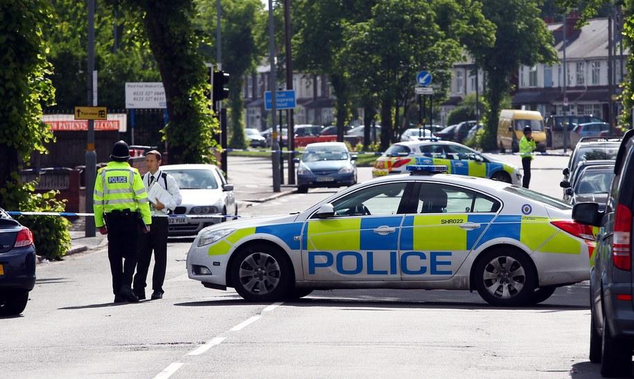 Brytyjska policja /DAVID JONES  /PAP/EPA