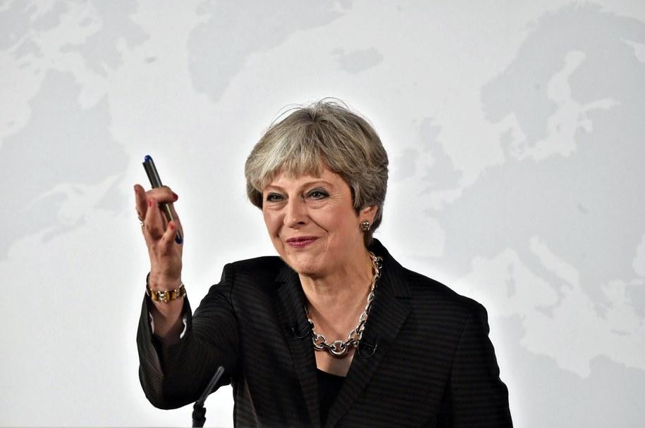 Brytyjska premier do Polaków: Chcemy być waszym przyjacielem /MAURIZIO DEGL'INNOCENTI / POOL /PAP/EPA