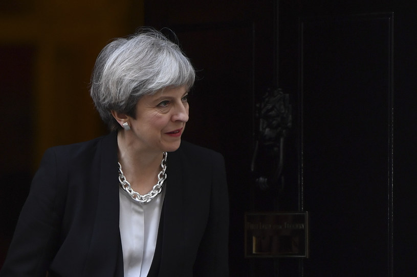 Brytyjska premier Theresa May /BEN STANSALL /AFP