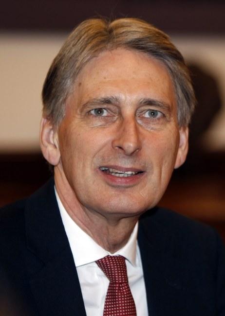 Brytyjski minister spraw zagranicznych Philip Hammond /KOCA SULEJMANOVIC /PAP/EPA