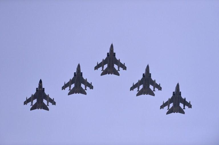 Brytyjskie myśliwce Tornado (zdjęcie ilustracyjne) /AFP