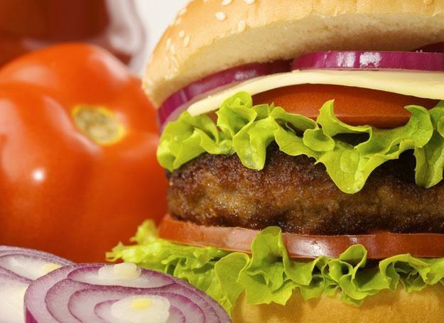 Brzdącowi, który z zachwytem ogląda reklamy fast foodów, powinien przypaść do gustu domowy hamburger /© Panthermedia