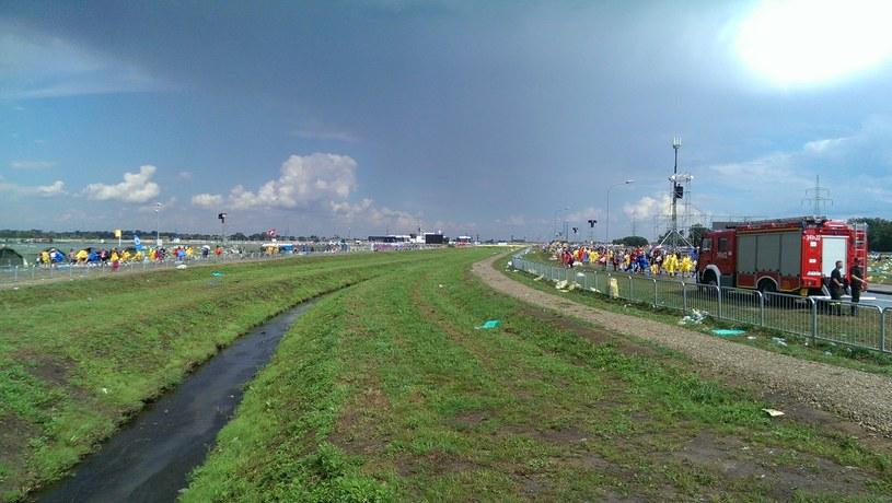 Brzegi po deszczu /INTERIA.PL