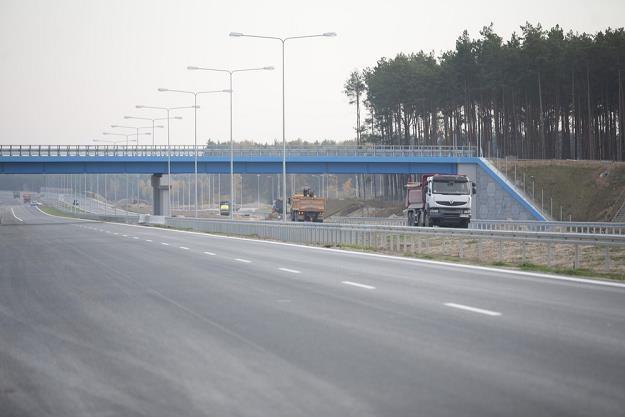 Budowa A1 na odcinku Czerniewice - Toruń. Odcinek ma być gotowy do końca roku / Fot: Adam Wysocki /East News