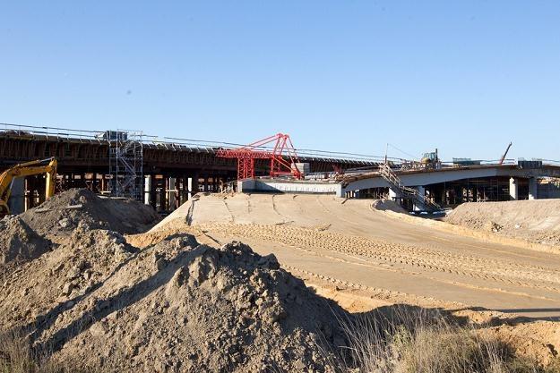 Budowa autostrady A1 / Fot: Andrzej Iwańczuk /Reporter
