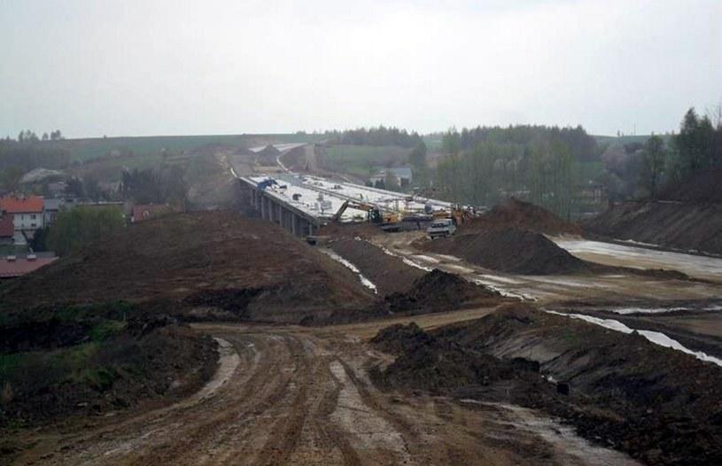 Budowa drogi S19 (fot: GDDKiA) /