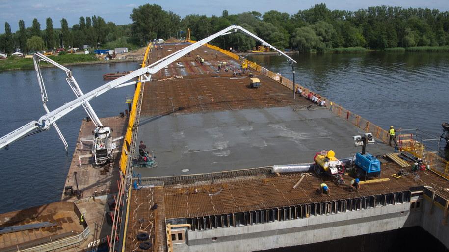 Budowa Mostu Cłowego w Szczecinie /ZDiTM Szczecin /Materiały prasowe