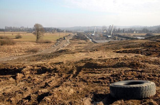 Budowa spornego odcinka A4 / Fot: M. Lasyk /Reporter