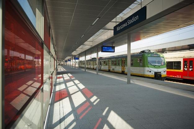 Budowa stacji Warszawa- Stadion / fot. Jakub Szamieto /East News