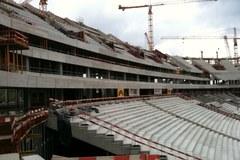 Budowa Stadionu Narodowego w Warszawie z poślizgiem