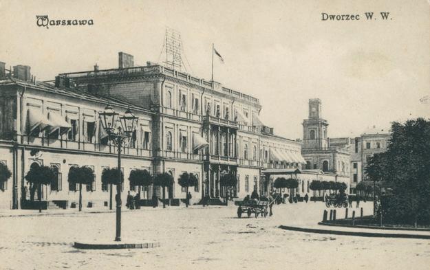 Budynek Dworca Wiedeńskiego w Warszawie /Wikimedia