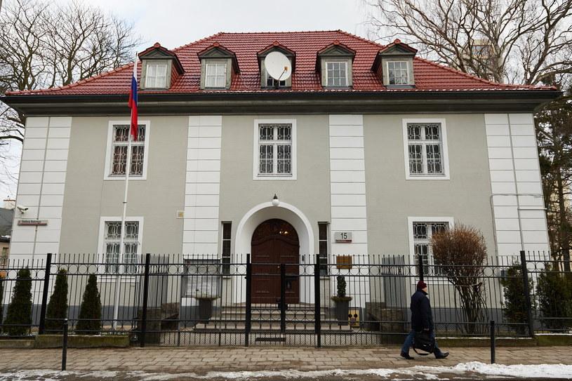Budynek konsulatu Federacji Rosyjskiej przy ulicy Batorego 15 w Gdańsku /Adam Warżawa /PAP