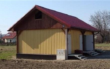 Budynek na bazie kontenerów, z czterema mieszkaniami, kosztował ponad 130 tys. /Gazeta Codzienna