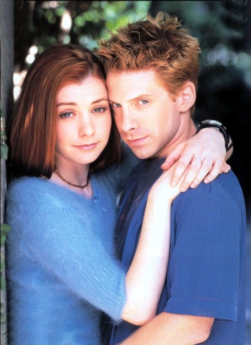 """""""Buffy: ..."""": Oz (Green) był pierwszym chłopakiem Willow (Hannigan), ale okazał się wilkołakiem /materiały prasowe"""