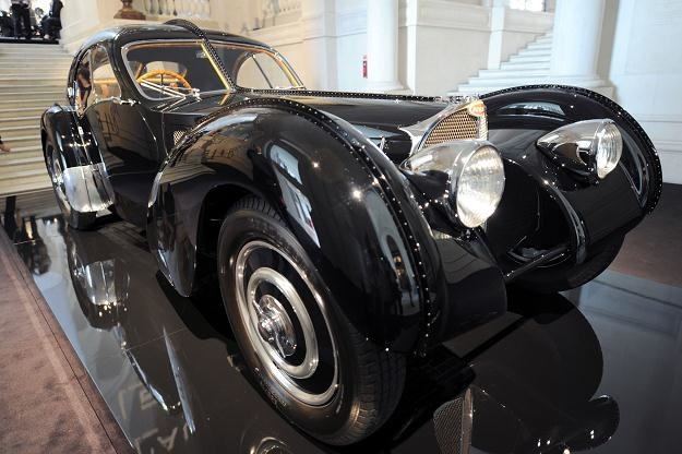 Bugatti 57 S(C) Atlantic z 1938 roku /PAP