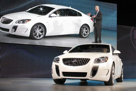 Buick regal GS /AFP