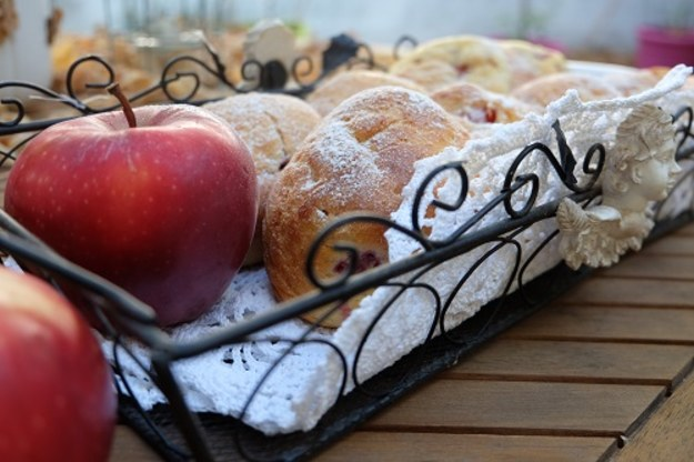 Buleczki z jablkami
