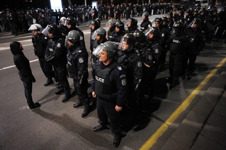 Bułgarska policja /AFP