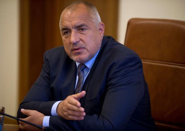 Bułgarski premier Bojko Borysow /AFP