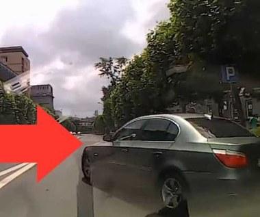 """Bulwersujące nagranie. Kierowca BMW:  """"Ściągnij okulary, to ci (...)"""""""