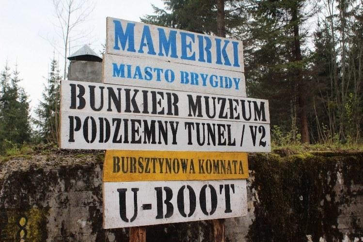Bunkier w Mamerkach /Piotr Bułakowski /RMF FM