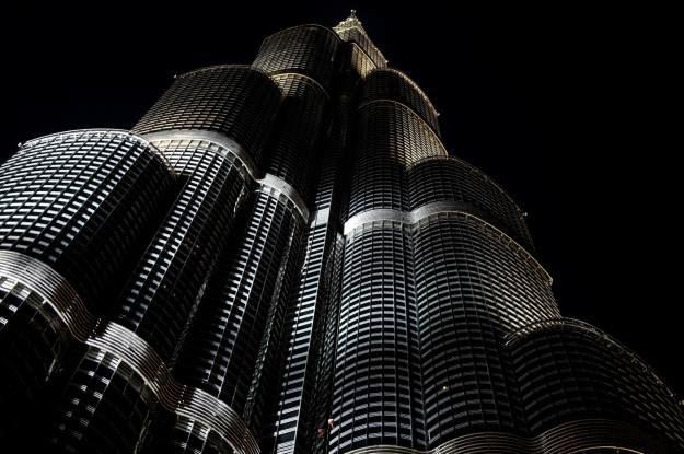Burdż Chalifa w Dubaju - wieżowiec, który współbudował Samsung /AFP