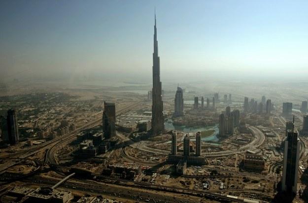 Burj Khalifa w Dubaju /AFP